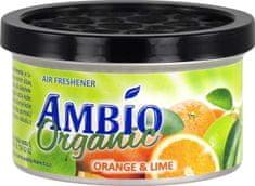 Ambio Organic osvježivač zraka od drvenih vlakana s mirisom naranče i limete