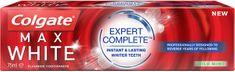 Colgate Max White Expert Complete Mild Mint zobna pasta, 75 ml