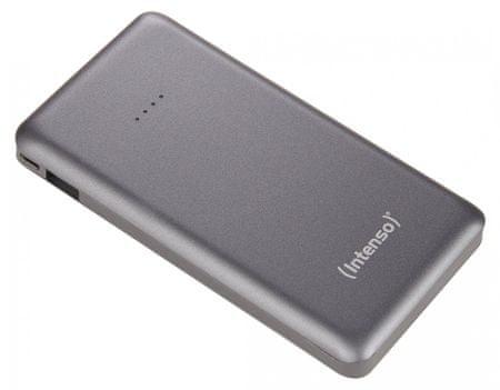 Intenso prenosna baterija S10000 SLIM, siva