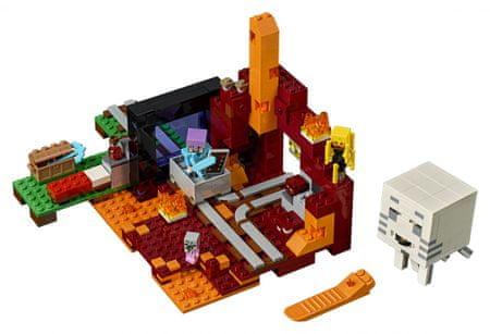 LEGO Minecraft 21143 Portal do Netheru