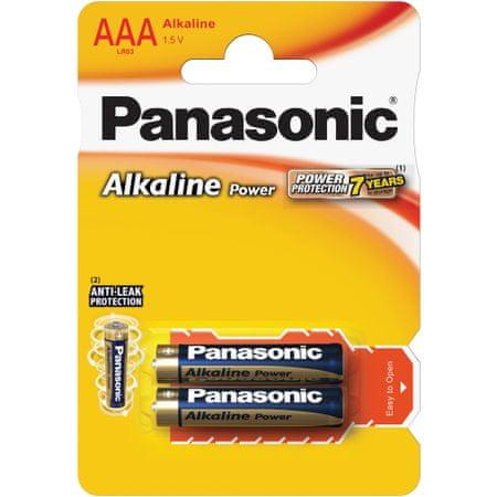 PANASONIC Alkaline Power AAA LR03 2BP