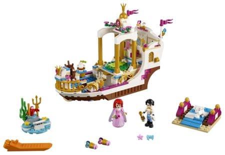 LEGO Disney Princess 41153 Arielin slavnostni kraljevski čoln