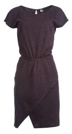 Timeout dámské šaty S vínová