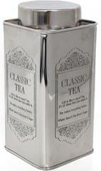 Sifcon Dóza vysoká, stříbrná, čaj