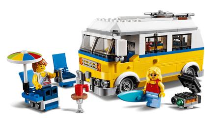 LEGO Creator 31079 Napsugár szörfös furgon