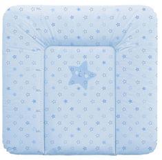 Haberkorn previjalna podloga Zvezda, 72 x 75 cm, modra