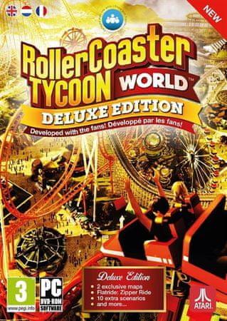 Atari RollerCoaster Tycoon - World Deluxe Edition (PC)