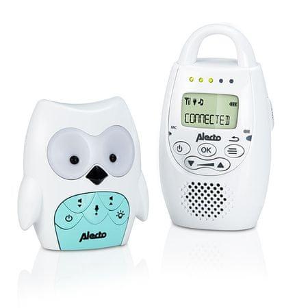 Alecto DECT dětská chůvička OWL dbx-84
