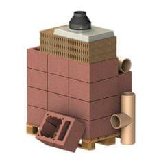 Almeva Komplet komín CLASSIC 1V, DN 140, 90°, základní set