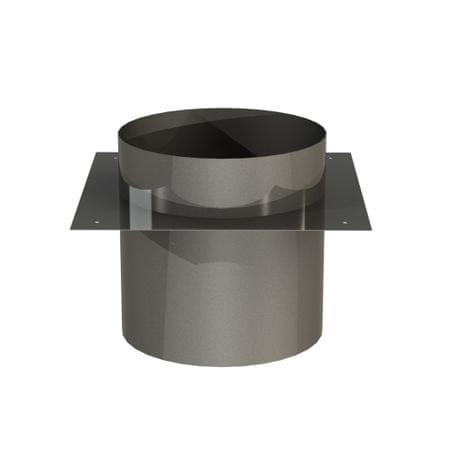 Almeva Krycí manžeta k betonové desce, nerezová