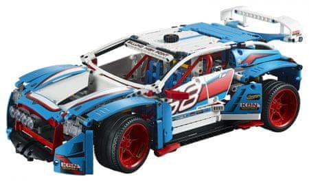 LEGO Technic 42077 Avtomobil za reli
