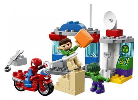 LEGO Duplo® 10876 Pókember és Hulk kalandjai