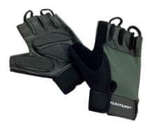 Tunturi fitnes rokavice Pro Gel, temno zelene