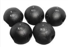 Ruilin medicinska žoga z ročaji, 8 kg