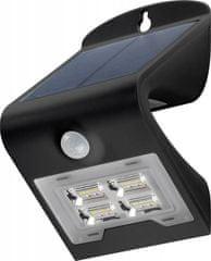 Goobay LED sončna stenska svetilka s senzorjem gibanja, 2 W