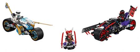 LEGO NINJAGO™ 70639 Ulična trka zmijskog jaguara