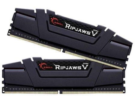 G.Skill pomnilnik (RAM) Ripjaws V 16GB (2x8GB) 3200MHz DDR4 (F4-3200C16D-16GVKB)