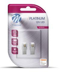 M-Tech žarulja LED W5W 12V CANBUS 10xSMD3014, bijela