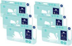 Harmony Toaletný papier Exclusive Crystal 3-vrstvý 6 x 8 kotúčov