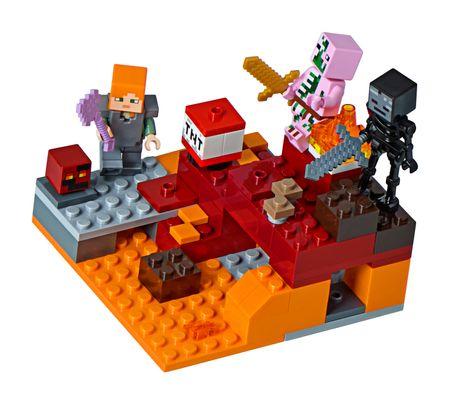 LEGO Minecraft 21139 Alvilági harc