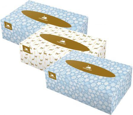 Harmony papirnati robčki Universal, 2-slojni, 3 x 150 kosov