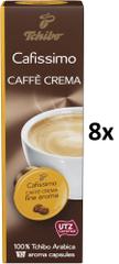 Tchibo Cafissimo Caffé Crema Fine Aroma, 8x10 kapsúl