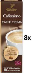 Tchibo Cafissimo Caffé Crema Decaffeinated, 8x10 kapsúl