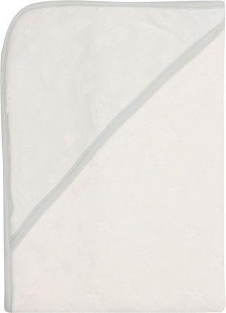 Bebe-jou ręcznik z kapturem Fabulouss Frosted, Shadow White