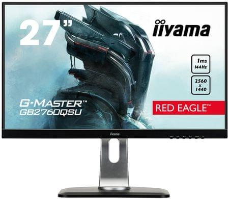 iiyama G-Master Red Eagle GB2760QSU-B1 monitor, 68,5 cm (27'')