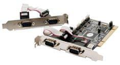 ST Lab PCI razširitvena kartica I-450, 6x serijski vmesnik