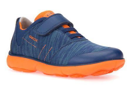 Chlapecká Modrá Na suchý zip Sportovní obuv od značky Geox bDqeJF6