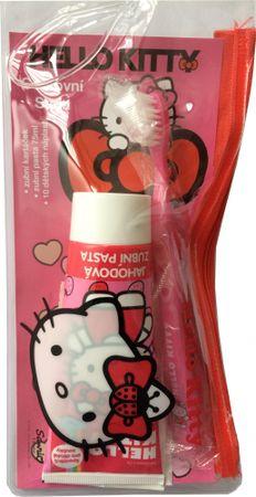 Hello Kitty dentálna cestovná sada