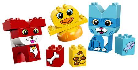 LEGO DUPLO 10858 Moje prve živali za sestavljanje