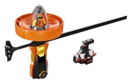 LEGO Ninjago 70637 - Cole - Spinjitzu mester