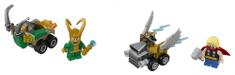 LEGO Super Heroes 76091 - Mighty Micros: Thor és Loki összecsapása