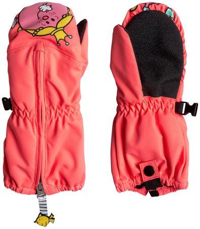 ROXY Snowsup Little K Neon Grapefruit L
