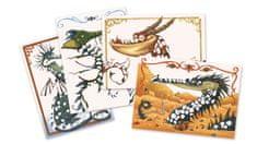 Djeco Výtvarný set folie Draci