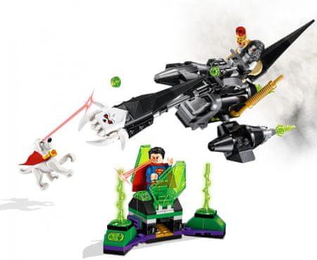 LEGO Super Heroes 76096 Superman in Krypto sodelujeta