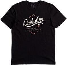 Quiksilver Ssclateseatales moška kratka majica, črna