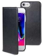 CELLY CELLY GHOSTWALLY mágneses tok Apple iPhone 7/8 készülékekre, kompatibilis a GHOST tartókkal, fekete