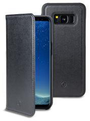 CELLY Magnetyczne etui CELLY GHOSTWALLY do Samsung Galaxy S8, kompatybilne z uchwytem GHOST, czarne