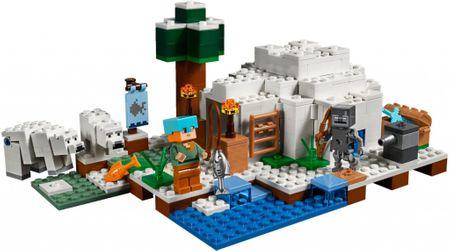 LEGO LEGO® Minecraft 21142 Igloo niedźwiedzia polarnego