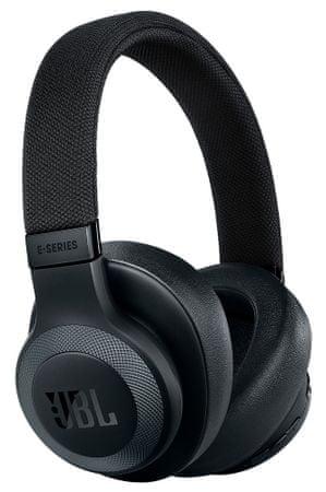 JBL E65BTNC, čierna