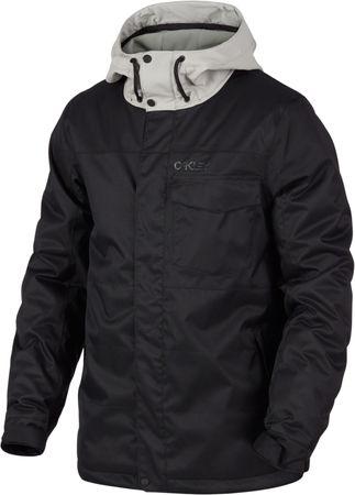 Oakley moška smučarska jakna DIVISION 10K BZI JACKET Blackout, črna, M