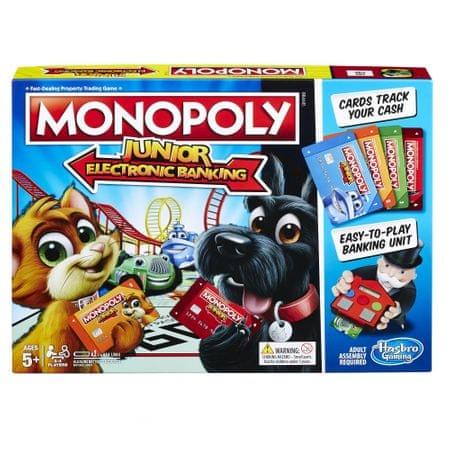 Hasbro Monopoly Junior Electronic Banking CZ/SK
