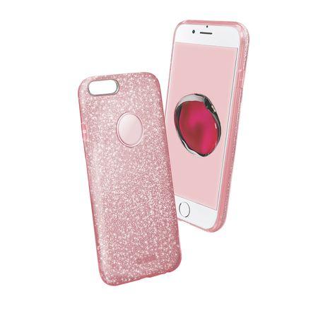 SBS ovitek z bleščicami za iPhone 7/8 Plus, roza