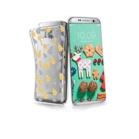SBS ovitek z bleščicami za Samsung Galaxy S8, božični