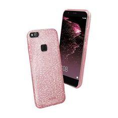 SBS ovitek z bleščicami za Huawei P10 Lite, roza