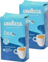 Lavazza kawa mielona DEK Decaffeinato 2x250g