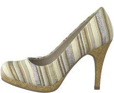 Tamaris női magassarkú cipő Taggia